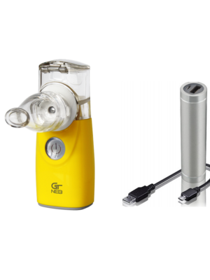 Hortus Medicus Ca-Mi GT NEB inhalaator kollane akupangaga