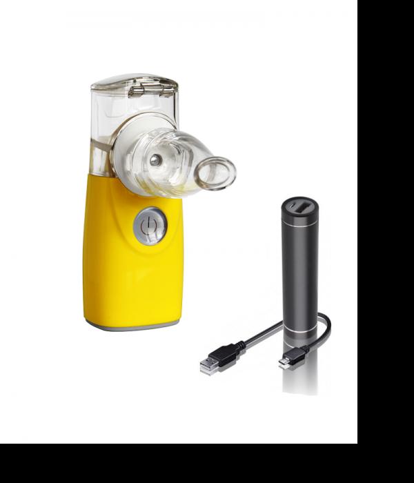 inhalaator akupangaga kollane võrktehnoloogia