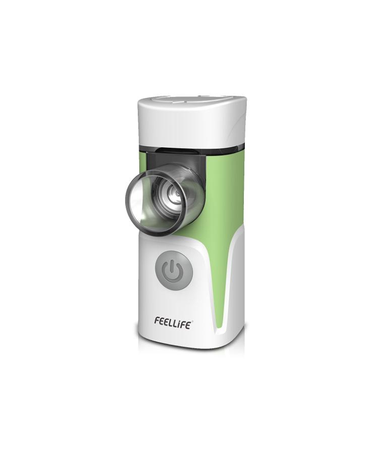 Feellife inhalaator nebulisaator Air Pro 4 roheline võrktehnoloogia