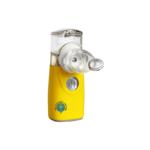Kollane inhalaator nebulisaator võrktehnoloogia väike hääletu