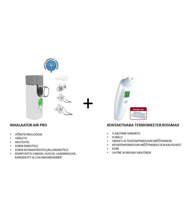 KAMPAANIA inhalaator kontaktivaba termomeeter
